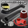 94-97 ACCORD ENGINE MOTOR PERFORMANCE UPGRADE COLD AIR INTAKE SYSTEM UNIT BLACK