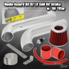 94-97 ACCORD PERFORMANCE UPGRADE ENGINE MOTOR COLD AIR INTAKE SYSTEM UNIT POLISHED