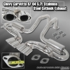 97 98 99 00 01 02 03 04 CHEVY CORVETTE 5.7L C5 Z06 LS1 CATBACK EXHAUST SYSTEM STAINLESS STEEL