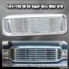 99 00 01 02 03 04 FORD F250 BILLET STYLE GRILLE CHROME