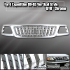 99-03 F150 EXPEDITION TRUCKS SUV 1 PCS FRONT REPLACEMENT VERTICAL GRILLE CHROME