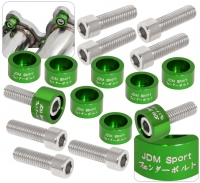 JDM SPORT GREEN HEADER WASHER KITS