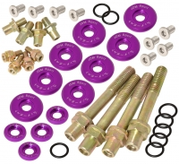 JDM SPORT PURPLE ENGINE VALVE COVER DRESS-UP WASHER KITS