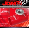 "JDM Sport Red Universal SSQV 2.5"" Silicone Adapter Coupler"