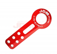 JDM Sport Universal Front Tow Hook Kit Red