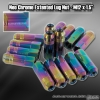 M12 x 1.5MM UNIVERSAL THREAD PITCH OPEN END EXTENDED LUG NUTS - 16 PIECES