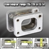 T25/T28 TO T3/T4 TURBOCHARGER SWAP MANIFOLD FLANGE CONVERTER ADAPTER