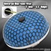 "UNIVERSAL 3"" BLUE FOAM AIR FILTER"