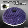 "UNIVERSAL 3"" PURPLE FOAM AIR FILTER"