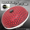 "UNIVERSAL 3"" RED FOAM AIR FILTER"