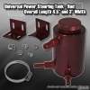 UNIVERSAL POWER STEERING RESERVOIR TANK RED