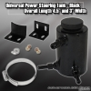 UNIVERSAL POWER STEERING RESERVOIR TANK BLACK