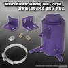 UNIVERSAL POWER STEERING RESERVOIR TANK PURPLE