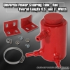 UNIVERSAL POWER STEERING RESERVOIR TANK SHARP RED
