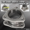 """UNIVERSAL STRAIGHT 2.25"""" INLET CATBACK / TEST PIPE / EXHAUST EXTENSION ADAPTER"""
