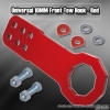 Universal Octagonal Style 10mm Front Tow Hook Kit Red