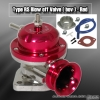 UNIVERSAL JDM Greddy TYPE RS STYLE TURBO BLOW OFF VALVE RED W/ RED LIP