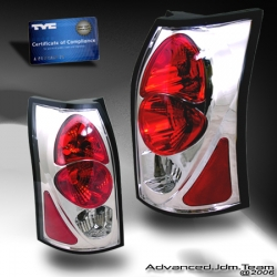 03 04 05 06 SATURN VUE TYC TAIL LIGHTS CHROME