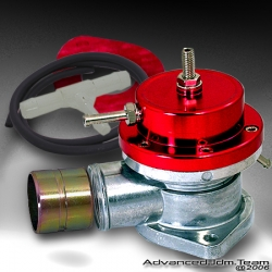 UNIVERSAL JDM Greddy TYPE S STYLE TURBO BLOW OFF VALVE RED TOP