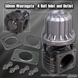 50MM 4 BOLT FLANGE TURBO WASTEGATE