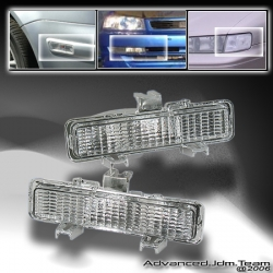 82 83 84 85 86 87 88 89 90 91 92 93 CHEVY S10 BUMPER LIGHTS CLEAR