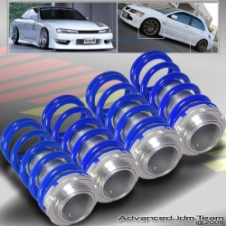 88 89 90 91 HONDA CIVIC JDM ADJUSTABLE COILOVER LOWERING SPRINGS BLUE