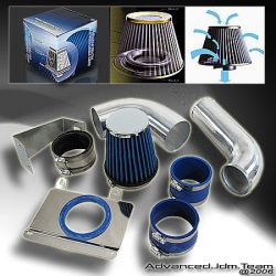 87 88 89 90 91 92 93 FORD MUSTANG V8 5L COLD AIR INTAKE CHROME