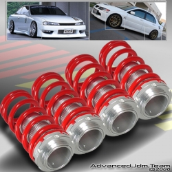 90 91 92 93 94 95 96 97 HONDA ACCORD JDM ADJUSTABLE COILOVER LOWERING SPRINGS Red