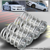 00 01 02 03 04 05 MITSUBISHI ECLIPSE JDM ADJUSTABLE COILOVER LOWERING SPRINGS SILVER