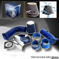 94 95 96 97 98 99 00 01 02 FORD MUSTANG V6 3.8L COLD AIR INTAKE BLUE