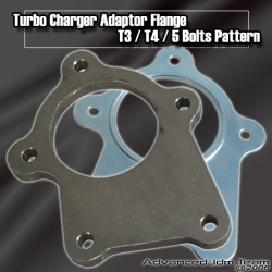 T3/T4 TURBO DOWNPIPE ADAPTER FLANGE
