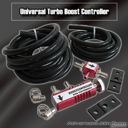 JDM TURBO BOOST CONTROLLER RED