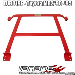 90 91 92 93 94 95 TOYOTA MR2 TANABE FRONT 4 POINT SUSTEC UNDER BRACE