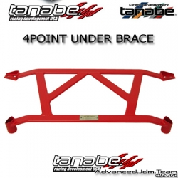 02 03 04 ACURA RSX TANABE FRONT 4 POINT SUSTEC UNDER BRACE