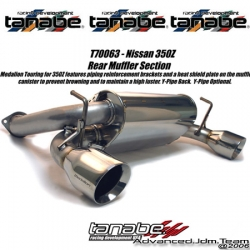 03 04 05 06 07 NISSAN 350Z TANABE Medallion TOURING CATBACK EXHAUST SYSTEM
