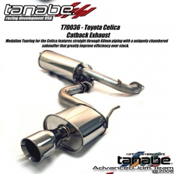 00 01 02 03 04 05 TOYOTA CELICA TANABE Medallion TOURING CATBACK EXHAUST SYSTEM