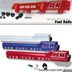 93 94 95 HONDA DEL SOL S SI AEM HIGH VOLUME FUEL RAIL