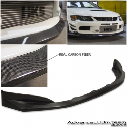 100% Brand New and Never Used.  Fitment: 06-07 Mitsubishi Lancer IXAPR Carbon Fiber Front Air Dam