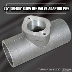 """UNIVERSAL JDM SPORTS 2.5"""" ADAPTER PIPE FOR Greddy STYLE BLOW OFF VALVES"""
