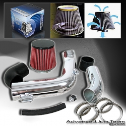 05 06 07 CHEVY COBALT 2.4L NON SUPER CHARGE COLD AIR INTAKE CHROME