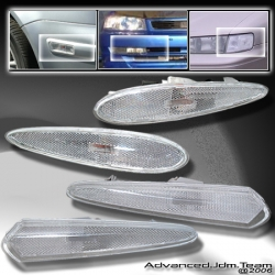 00 01 02 NISSAN MAXIMA FRONT AND REAR BUMPER LIGHTS CLEAR