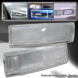 82 83 84 85 86 87 88 89 90 91 92 93 CHEVY S10 CORNER LIGHTS CLEAR