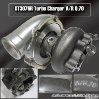 GT3076R TURBO CHARGER WITH T25 EXHAUST HOUSING