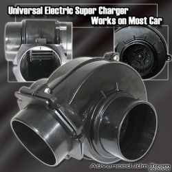 UNIVERSAL ELECTRIC SUPERCHARGER TURBO BOOST