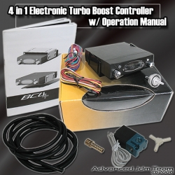 4 in 1 ELECTRONIC TURBO BOOST CONTROLLER W/ TURBO TIMER