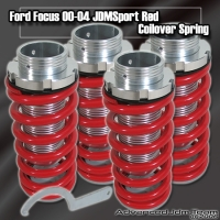 00 01 02 03 04 FORD FOCUS JDM ADJUSTABLE COILOVER LOWERING SPRINGS Red