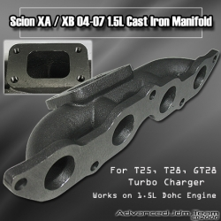 04 05 06 07 SCION XA / XB / YARIS / ECHO / VITZ 1.5L CAST IRON MANIFOLD FOR NZ ENGINE