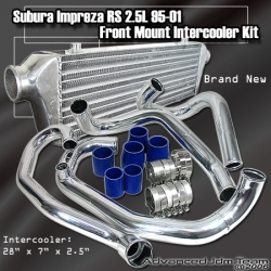 95 96 97 98 99 00 01 SUBARU IMPREZA WRX STI FRONT MOUNT SMALL INTERCOOLER WITH PIPING KIT