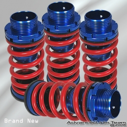 00 01 02 03 04 05 TOYOTA CELICA ADJUSTABLE JDM COILOVER LOWERING SPRINGS Red
