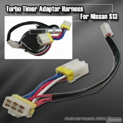 NISSAN S13 S-13 89 90 91 92 93 TURBO TIMER ADAPTER HARNESS